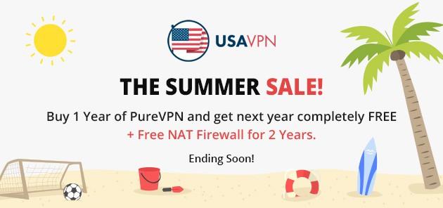 Purevpn 2016 Summer Sale