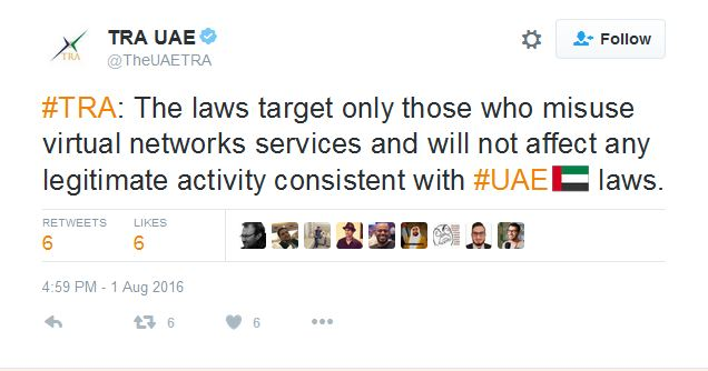 tweet-uae-vpn
