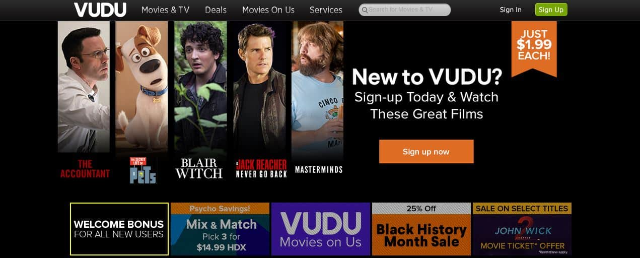 access-vudu-streaming