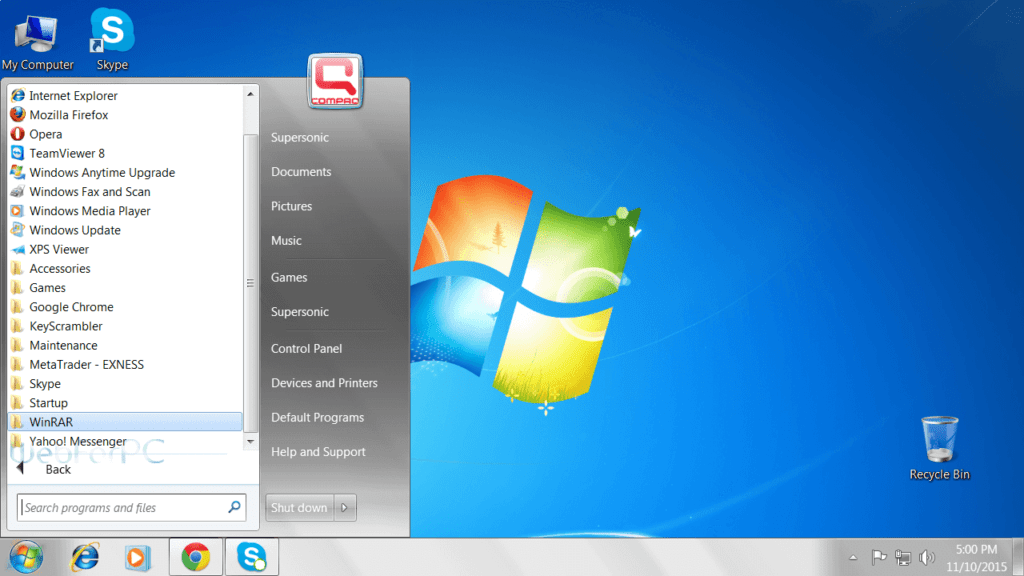 VPN for windows 7