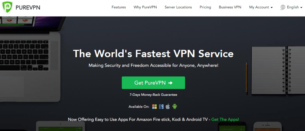 vpn for streaming - purevpn