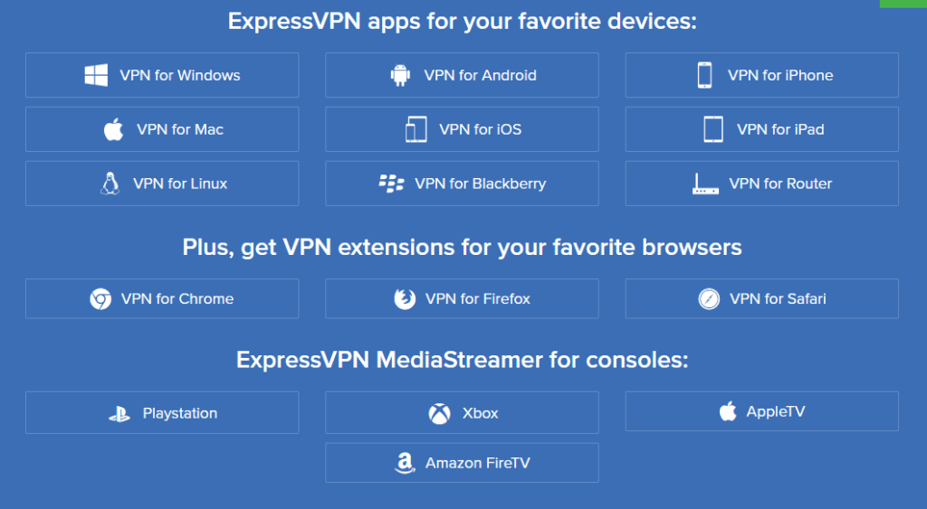 expressvpn review - apps