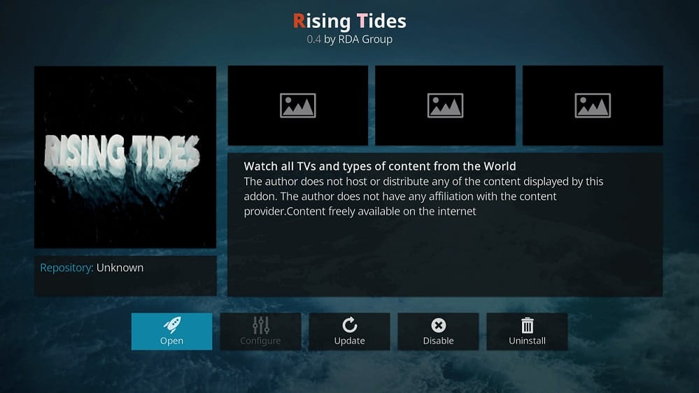 Rising tides add-on